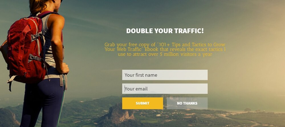 Mistakes od pop ups - Outbrain
