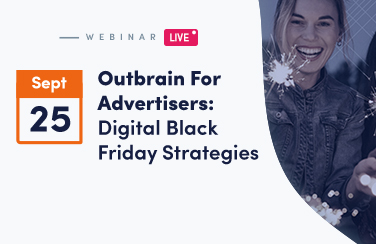 Black Friday Digital strategy Webinar