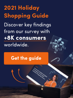 2021 Holiday shopping guide - discover key findings from our survey with 8k+ consumers world wide