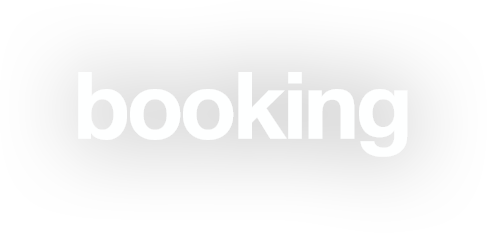 booking.com logo white