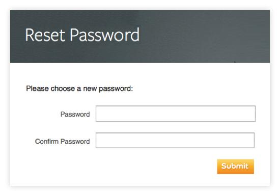 réinitialiser votre mot de passe,