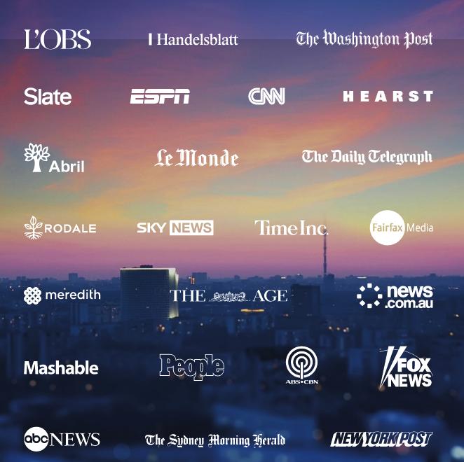 Our premium publishers
