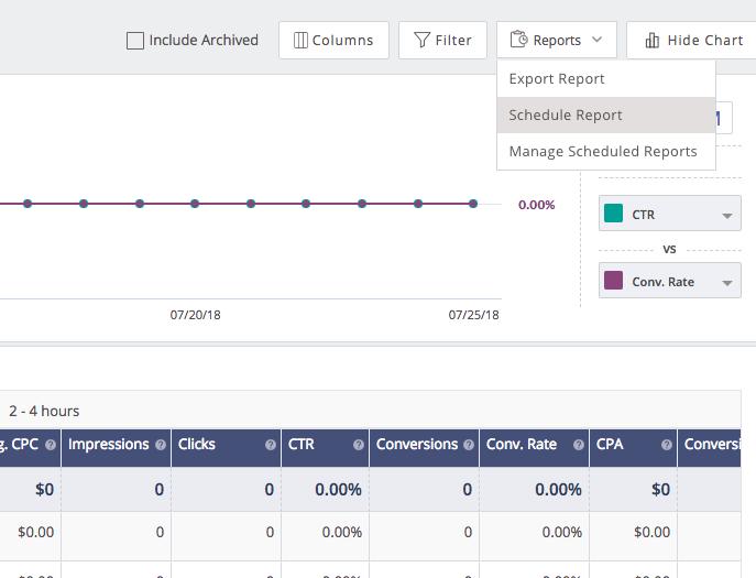 performance reporting customization faq outbrain help