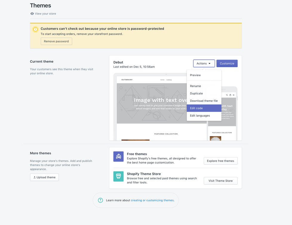 Outbrain's Pixel On Shopify Platform | FAQ | Conversion Tactics