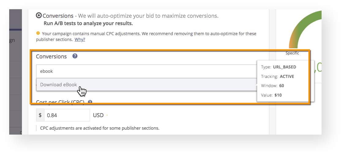 How do I Optimize for Conversions? | Outbrain Help Center